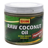 Health from the Sun Raw Coconut Oil - 14 oz - 010043840624