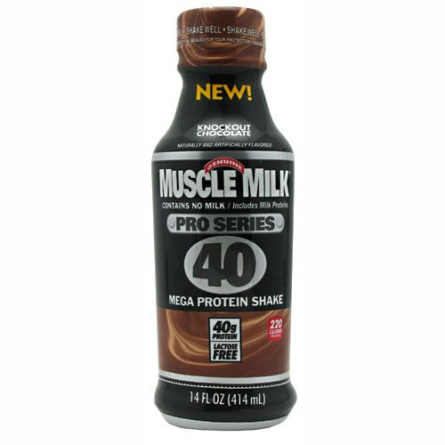 Cytosport Pro Series Muscle Milk Pro Series 40 - Knockout Chocolate - 12 Bottles - 876063002905