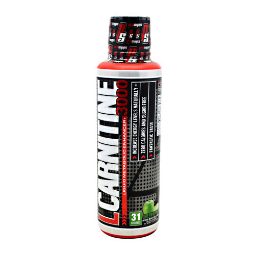 Pro Supps L-Carnitine 3000 - Green Apple - 31 Servings - 783956105851