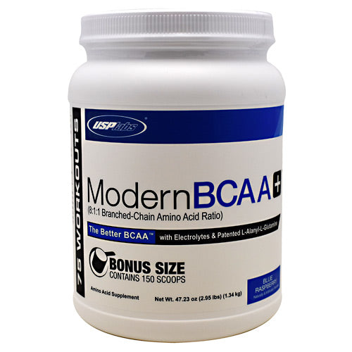 USP Labs Modern BCAA+ - Blue Raspberry - 75 Servings - 094922017062
