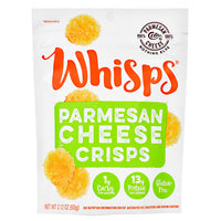 Schuman Cheese Whisps Cheese Crisps - Parmesan - 12 ea - 20088231412049