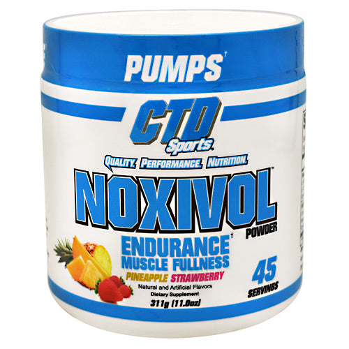 CTD Labs Noxivol - Pineapple Strawberry - 45 Servings - 696859122804