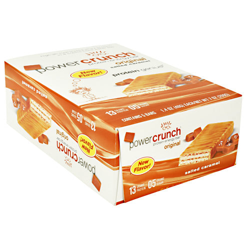 Power Crunch Power Crunch - Salted Caramel - 5 Bars - 644225730030