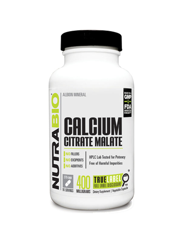 Nutrabio Calcium Citrate Malate