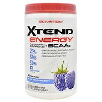 Scivation Xtend Energy - Blue Raspberry - 30 Servings - 842595107500