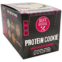 Buff Bake Protein Cookie - Chocolate Donut - 12 ea - 857697005302