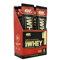 Optimum Nutrition Gold Standard 100% Whey - Vanilla Ice Cream - 6 Packets - 748927958973