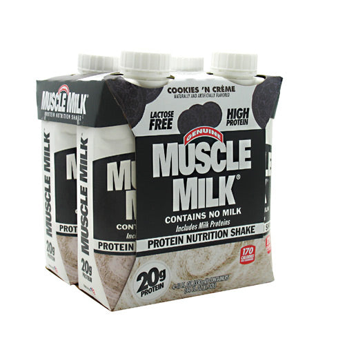 Cytosport Muscle Milk RTD - Cookies n Cream - 12 ea - 00876063003841