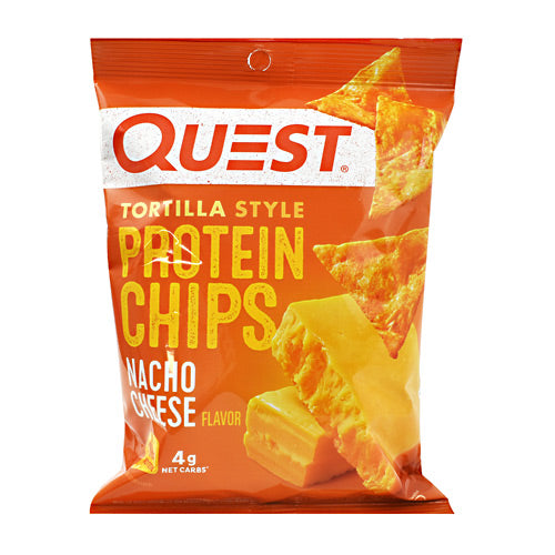Quest Nutrition Protein Chips - Nacho Cheese - 8 ea - 30888849006633