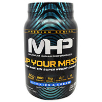MHP Premium Series Up Your Mass - Cookies & Cream - 2.33 lb - 666222096124
