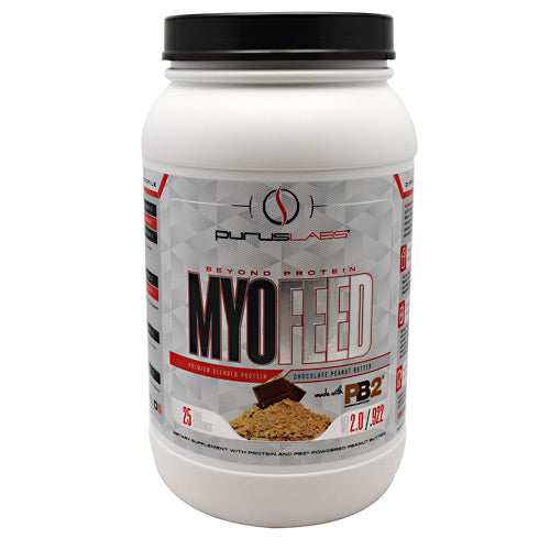 Purus Labs MyoFeed - Chocolate Peanut Butter - 2 lb - 855734002529