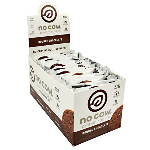 Ds Naturals No Cow Protein Cookie - Double Chocolate - 12 ea - 852346005702