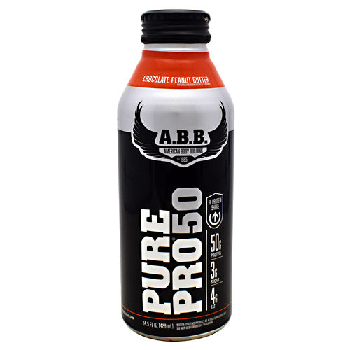 ABB Pure Pro 50 - Chocolate Peanut Butter - 12 Bottles - 00045529856653
