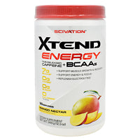 Scivation Xtend Energy - Mango Nectar - 30 Servings - 842595107463