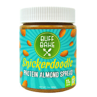 Buff Bake Protein Almond Spread - Snickerdoodle - 13 oz - 857697005036