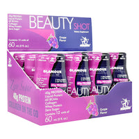 Midway Labs Glamour Nutrition Beauty Shot - Grape - 12 ea - 813236024289