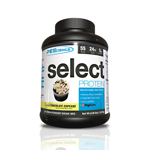 PEScience Select Protein - Frosted Chocolate Cupcake - 55 Servings - 040232199950