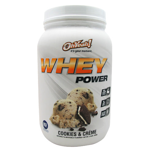 ISS Research Oh Yeah! Whey Power - Cookies & Creme - 2 lb - 788434108430