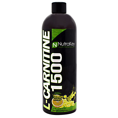 Nutrakey L-Carnitine 1500 - Lemon Drop - 16 fl oz - 851090006454