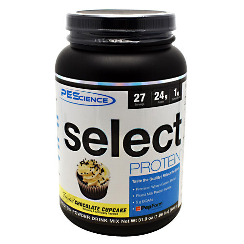 PEScience Select Protein - Frosted Chocolate Cupcake - 27 Servings - 040232199943