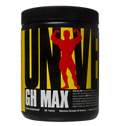 Universal Nutrition GH Max - 180 Tablets - 039442014320