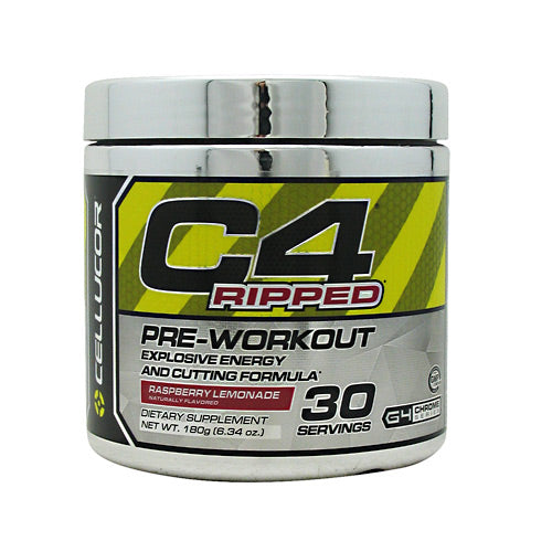 Cellucor C4 Ripped - Raspberry Lemonade - 30 Servings - 810390025299