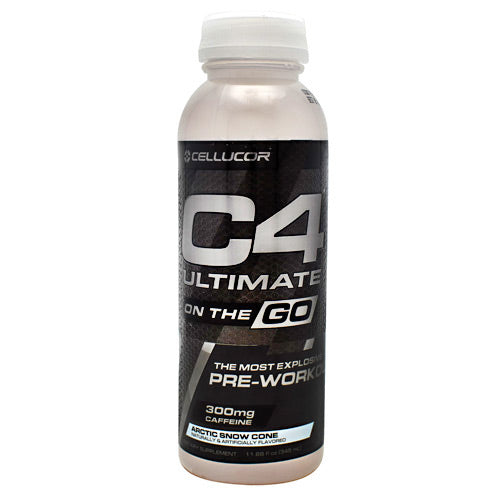 Cellucor Ultimate C4 On the Go - Artic Snow Cone - 12 Bottles - 842595102604