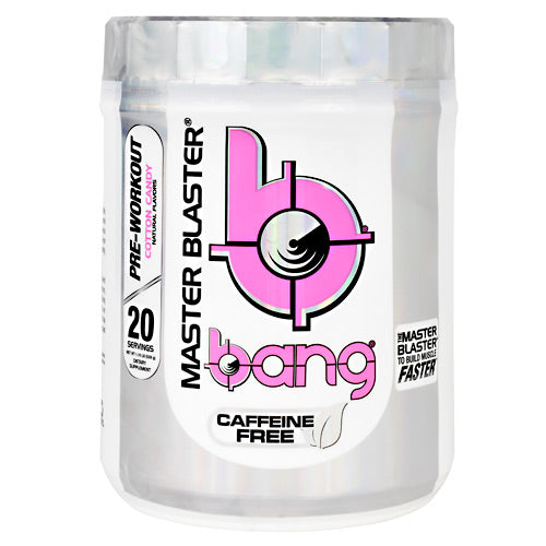 VPX Caffeine Free Bang Master Blaster - Cotton Candy - 20 Servings - 610764000651