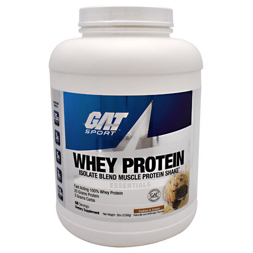 GAT Whey Protein - Cookies & Cream - 68 Servings - 816170020898
