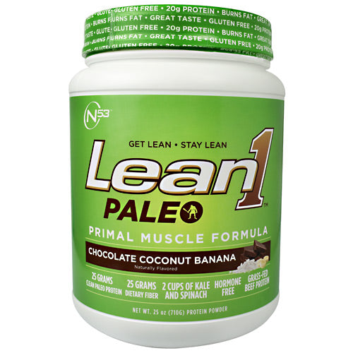 Nutrition 53 Lean1 Paleo - Chocolate Coconut Banana - 2 lb - 810033012631