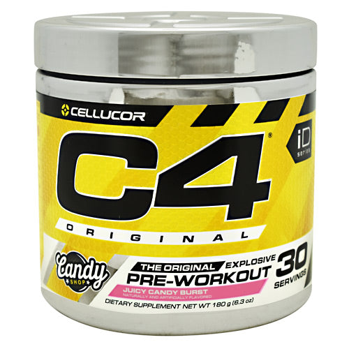 Cellucor iD Series C4 - Juicy Candy Burst - 30 Servings - 842595104615
