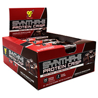 BSN Syntha-6 Protein Crisp - Chocolate Crunch - 12 Bars - 834266906918