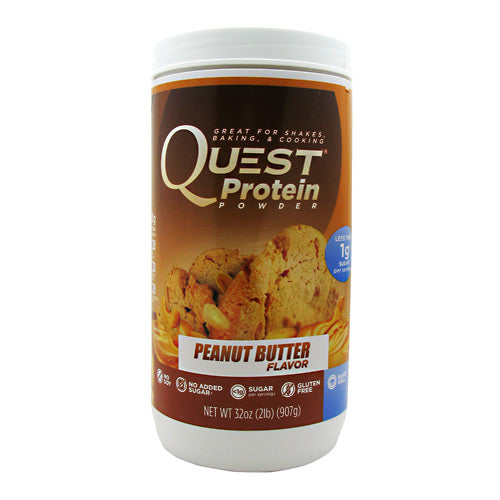 Quest Nutrition Quest Protein Powder - Peanut Butter - 2 lb - 888849000548