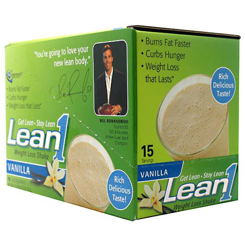 Nutrition 53 Lean1 - Vanilla - 15 Packets - 810033011115