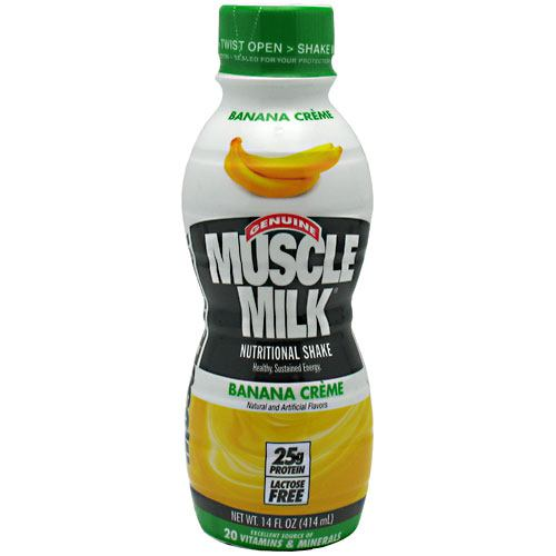 Cytosport Muscle Milk RTD - Banana Creme - 12 Bottles - 876063002233