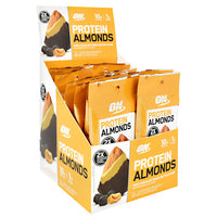 Optimum Nutrition Protein Almonds - Dark Chocolate Peanut Butter - 12 Packets - 748927960389