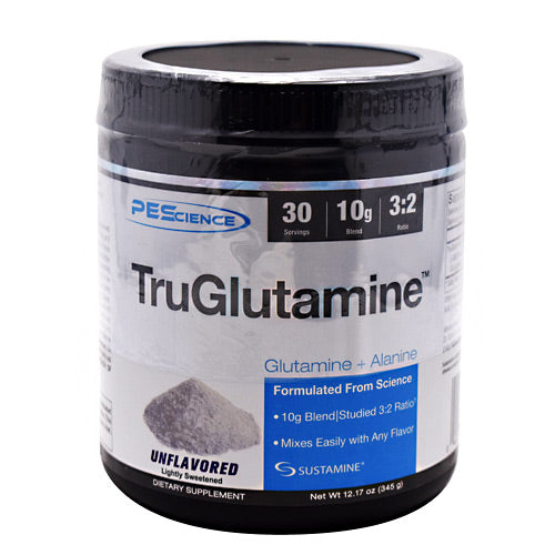 PEScience TruGlutamine - Unflavored - 30 Servings - 040232543302