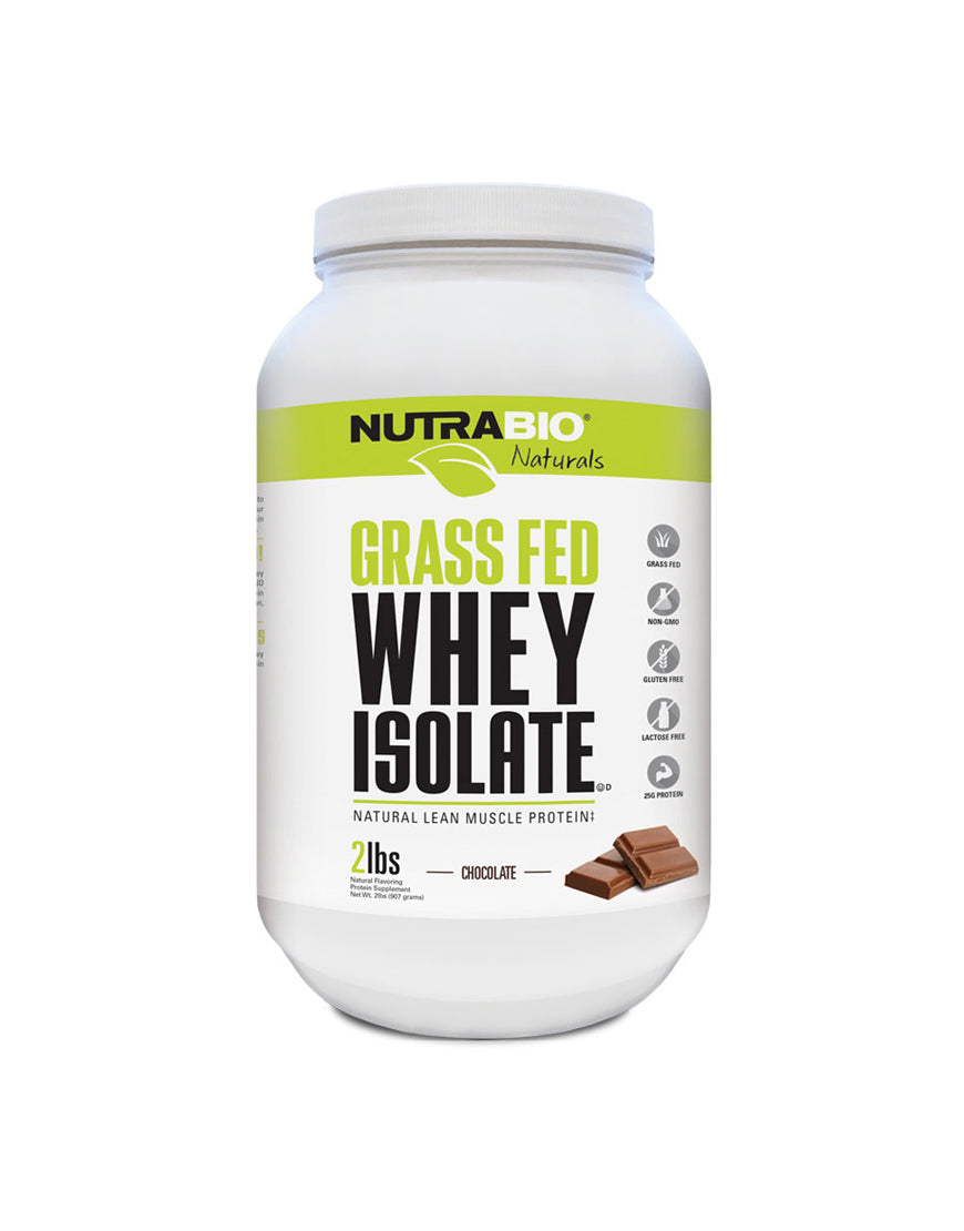 Nutrabio Grass-Fed Whey Protein Isolate