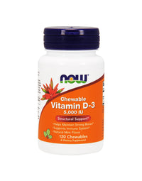 NOW CHEWABLE VITAMIN D-3 (1000 IU)