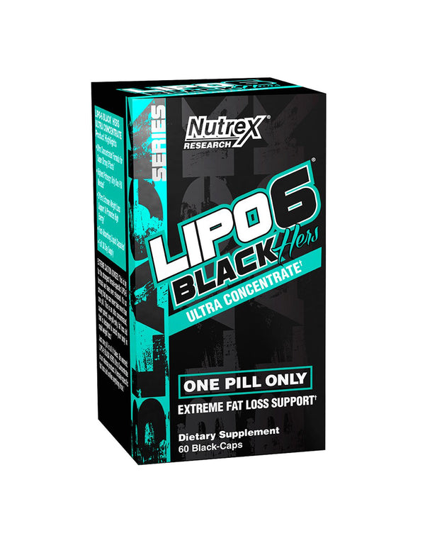 Nutrex Research Lipo 6 Black Hers Ultra Concentrate