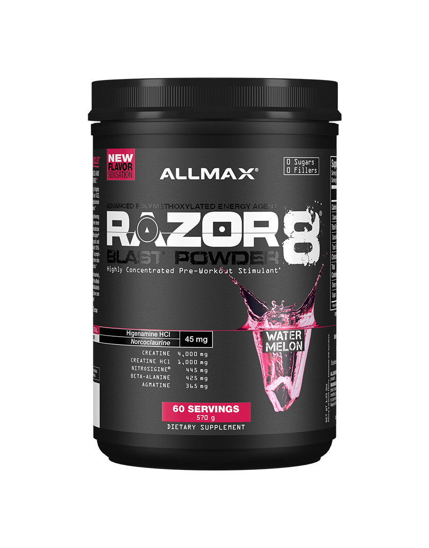 ALLMAX Nutrition - Razor 8 - Highly Concentrated Pre-Workout Stimulant