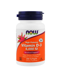 NOW VITAMIN D-3 5,000IU