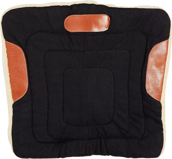 Pony Canvas Contour Cut Western Saddle Pads by Tahoe Tack - Tack Wholesale