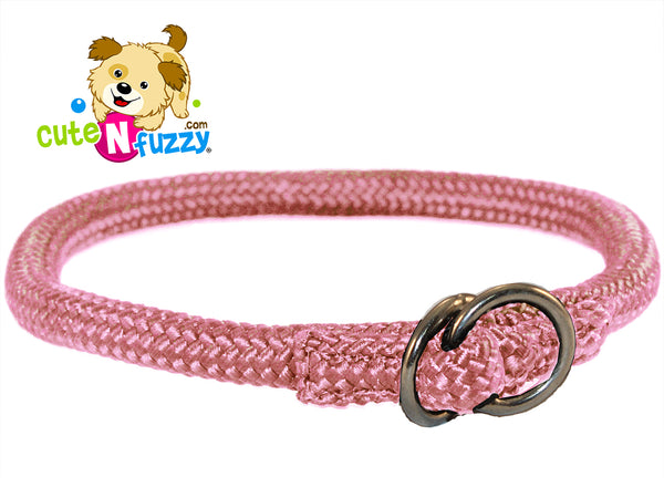 Nylon Round Braided Choke Collar Closeout by cuteNfuzzy®