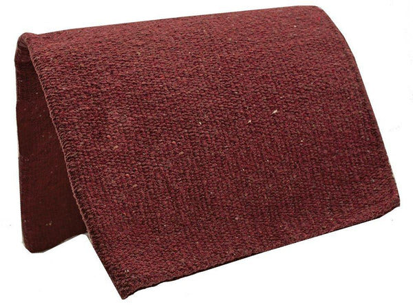 "Tahoe Tack Lightweight Solid Colored Traditional 36x34"" Handwoven Acrylic Saddle Blanket"