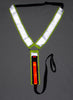Tahoe Tack LightUp LED Reflective Safety Battery Operated Breast Collar