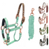 products/1Safety_Reflective_Horse_Halter_Rose_Gold_Turquoise_Swatch_30-3010.png