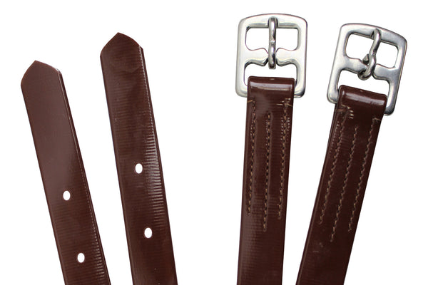Paris Tack Flex-Webb Bio English Stirrup Leathers