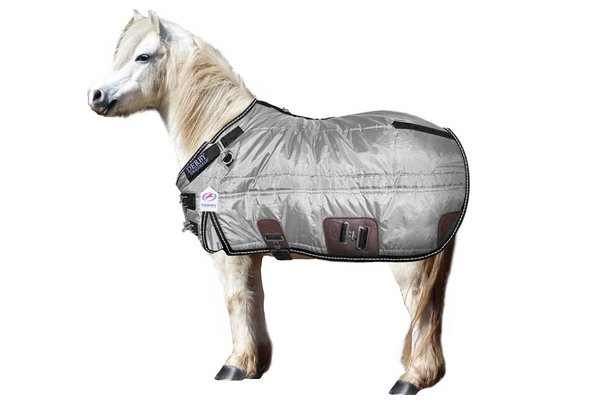 Derby Originals Nordic Tough West Coast 420D Water Resistant Winter Mini Horse and Pony Stable Blanket 200g Medium Weight