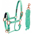 products/2Safety_Reflective_Horse_Halter_Rose_Gold_Turquoise_Main_30-3011.png